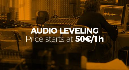 audio leveling